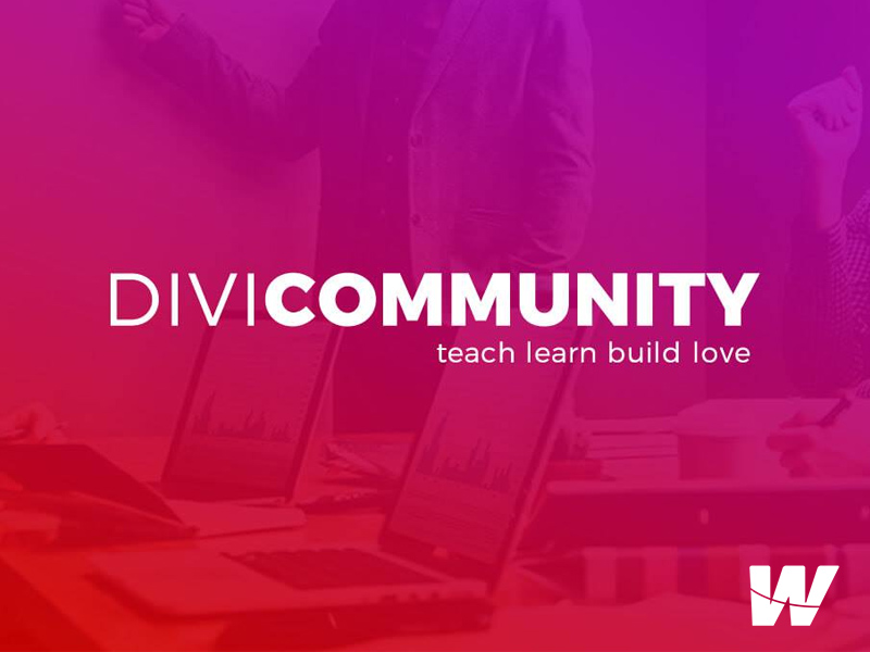 The Divi Community.